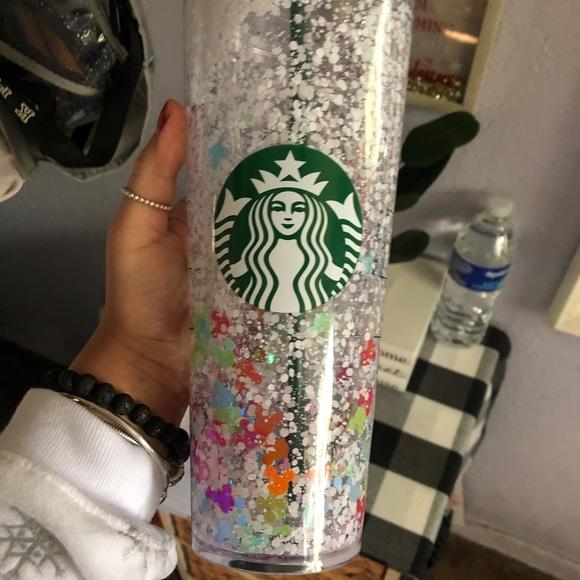 Starbucks Snow globe cups